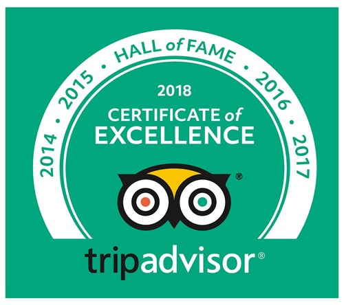 Tripadvisor Certificate of Excellence for Arctic Sea Tours